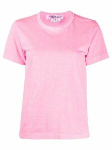 Comme Des Garçons Comme Des Garçons boxy fit T-shirt - PINK
