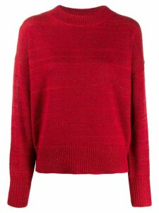Isabel Marant Étoile slouchy crewneck jumper - Red