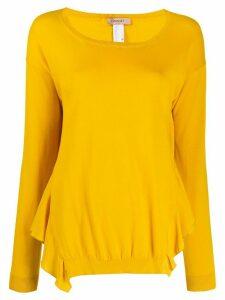 Twin-Set ruffled jumper - Yellow