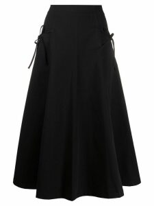 Vivetta tie-fastening high-waist skirt - Black