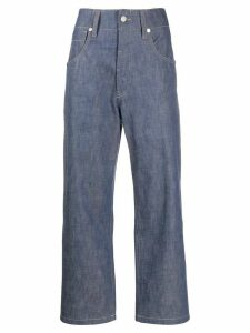 Sofie D'hoore Pingu high-rise straight jeans - Blue