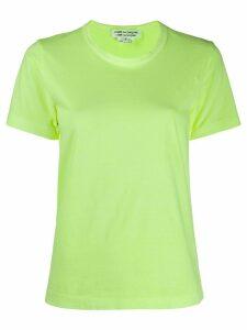 Comme Des Garçons Comme Des Garçons boxy-fiy T-shirt - Yellow