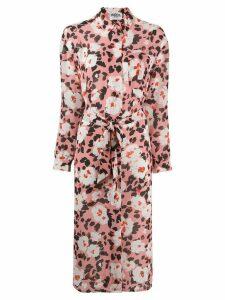 Essentiel Antwerp floral shirt dress - PINK