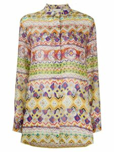 Etro mixed-pattern shirt - NEUTRALS