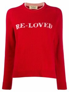 Pringle of Scotland Re-Loved jumper - Red