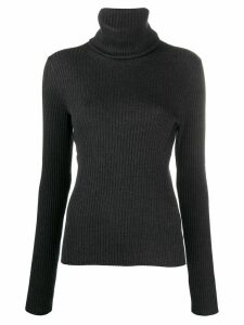 Pringle of Scotland roll-neck fitted jumper - Grey