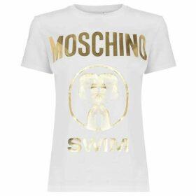 Moschino Flamingo T Shirt