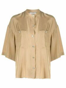 Vince patch pocket blouse - NEUTRALS