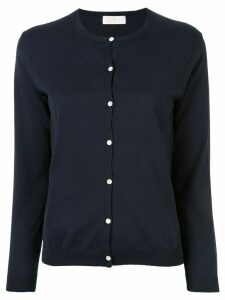 Tomorrowland crew neck buttoned cardigan - Blue