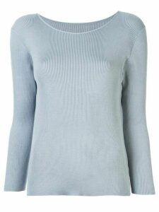 Tomorrowland knitted boat neck top - Blue