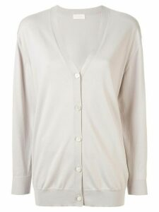 Tomorrowland v-neck buttoned cardigan - White