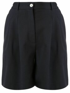 Harris Wharf London pleated bermuda shorts - Blue