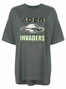 Ader Error Invaders T-shirt - Grey