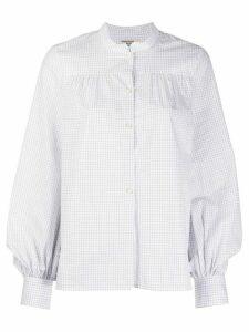 Baum Und Pferdgarten long-sleeve check shirt - White