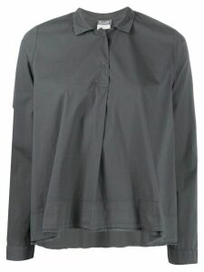 Kristensen Du Nord raw edge boxy-fit shirt - Grey