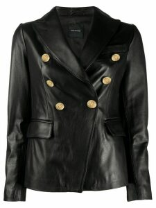 Tagliatore double-breasted jacket - Black
