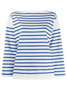 Philosophy Di Lorenzo Serafini striped long sleeved T-shirt - White