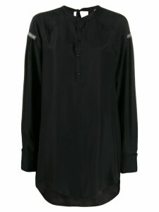 A.F.Vandevorst oversized long-sleeve top - Black