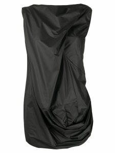 Rick Owens draped tank top - Black
