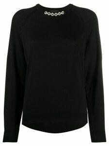 Simone Rocha pearl embellished jumper - Black