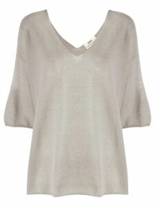 Sminfinity V-neck top - Grey