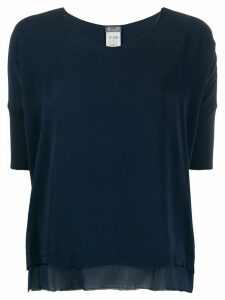 Kristensen Du Nord layered hem T-shirt - Blue