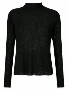 Uma Raquel Davidowicz Costa high neck blouse - Black