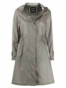 Herno weather wicking hooded raincoat - 4120 TAUPE