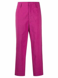 Forte Forte straight leg trousers - PINK