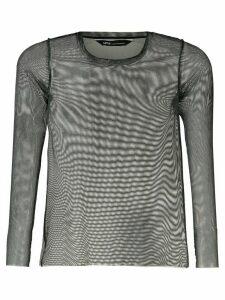 Uma Raquel Davidowicz Cancun tulle blouse - Grey