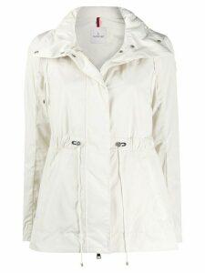Moncler hooded drawstring jacket - NEUTRALS