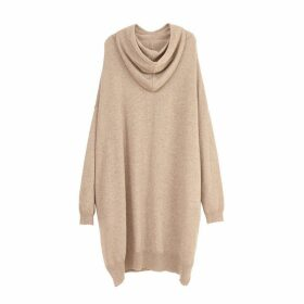 Arela Aspen Cashmere Hoodie In Soft Brown