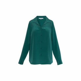 Gerard Darel Silk Margaret Blouse