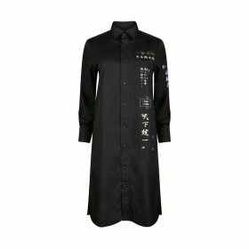TOKKOU - Tokkou Japanese Cotton Womens Long-Sleeve Shirt In Black