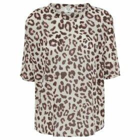 Day Birger Et Mikkelson Home Day Mio Leopard Print Blouse