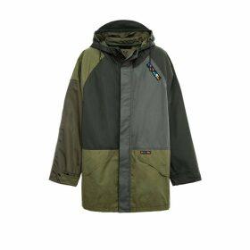 Mr & Mrs Italy Patchwork Unisex Anorak Jacket