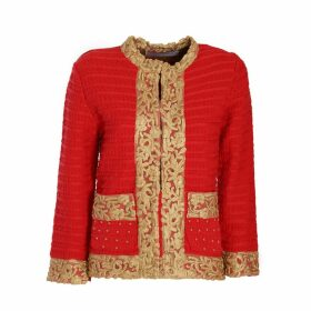 The Extreme Collection - Red Barroque Jacket Maura