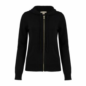 Michael Kors Collection Studio 54 Cashmere Zip Hoodie
