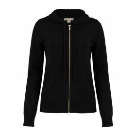 Michael Kors Collection Studio 54 Cashmere Zip Hoodie