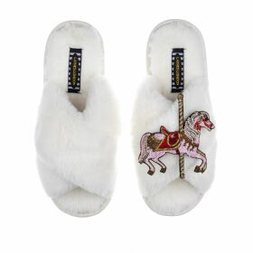 PAISIE - Regents Three Tone Top In Brown, Off White & Pink