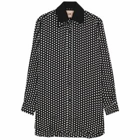 Plan C Polka-dot Print Shirt