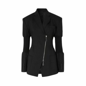Burberry Technical Twill Reconstructed Blazer