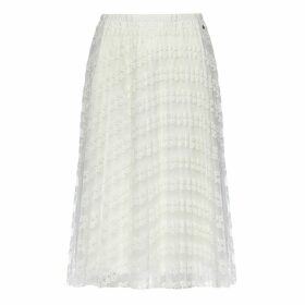 Nissa - Pleated Lace Skirt