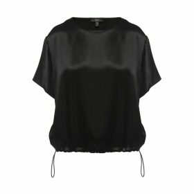 Nissa - Satin Effect Viscose Top