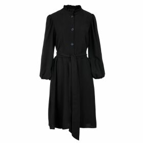 STUDIO MYR - Wrap Top Of Extra Fine Merino Blossom Pink