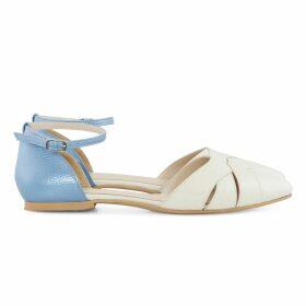 NoLoGo-chic - Deep-Sea Blues Morocco Pure Linen Tunic Dress