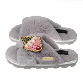 At Last. - Sophie Cotton Blouse Navy Ikat