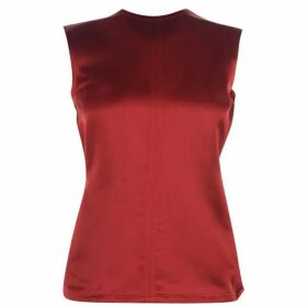 Helmut Lang Open Satin Top