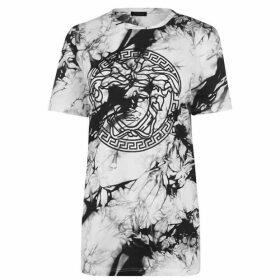 Versace Tie Dye Medusa T Shirt