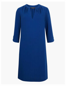 M&S Collection Crepe Shift Dress